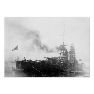 Japanese Battleship Nagato Poster