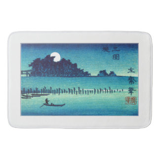 Japanese Bay Bathroom Mat