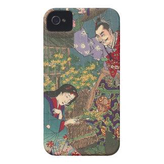 Japanese Beautiful Geisha Samurai Art Case-Mate iPhone 4 Cases