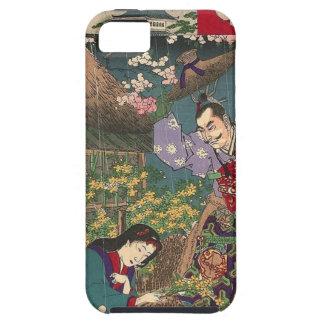 Japanese Beautiful Geisha Samurai Art iPhone 5 Cover