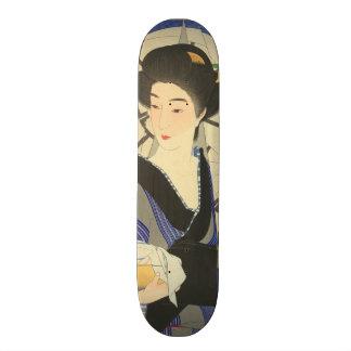 Japanese Beauty At the Bathouse Skateboard Decks