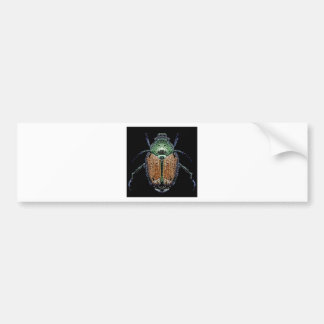 Japanese Beetle Bumper Sticker