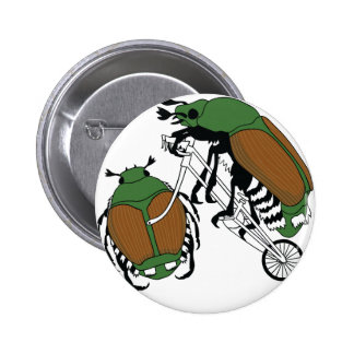 Japanese Beetle Riding Bike/ Japanese Beetle Wheel 2 Inch Round Button