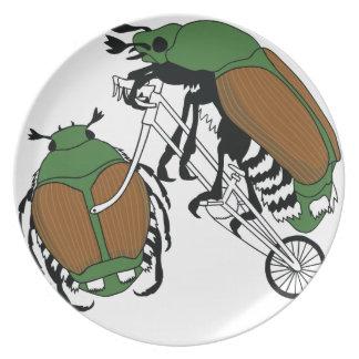 Japanese Beetle Riding Bike/ Japanese Beetle Wheel Plate
