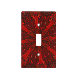 Japanese Blood Red Lightswitch Cover