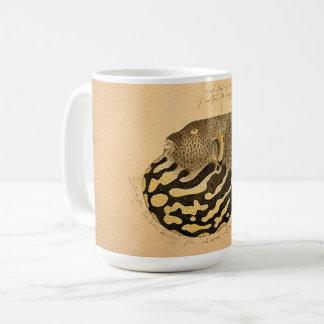 Japanese Blowfish Fish Ocean Sea Aquatic Art Mug