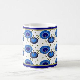 Japanese Blue Fans - 11 oz Classic Mug
