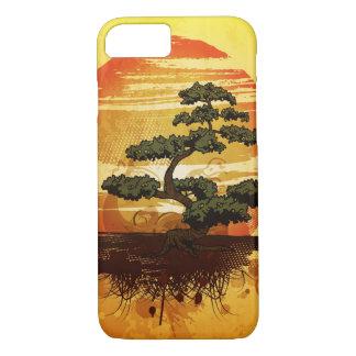 Japanese Bonsai Tree Sunset iPhone 7 Case