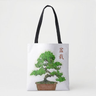 Japanese Bonsai Tree Tote Bag