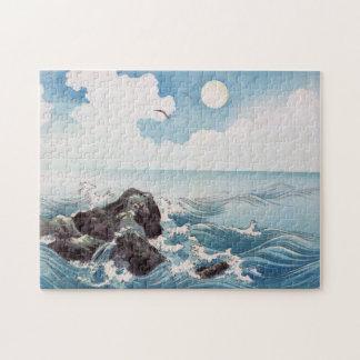 Japanese Breakwater Puzzle