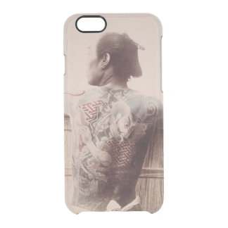 Japanese Bridegroom's Tattoos, c.1880 (photo) Clear iPhone 6/6S Case