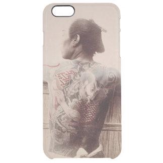Japanese Bridegroom's Tattoos, c.1880 (photo) Clear iPhone 6 Plus Case