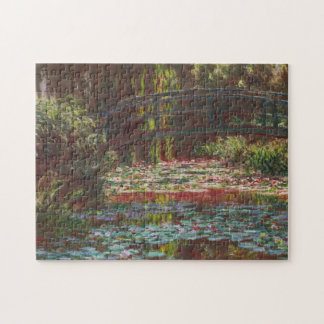 Japanese Bridge and Water Lilies ~ Claude Monet Puzzle
