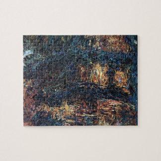 Japanese Bridge by Claude Monet, Vintage Fine Art Jigsaw Puzzle