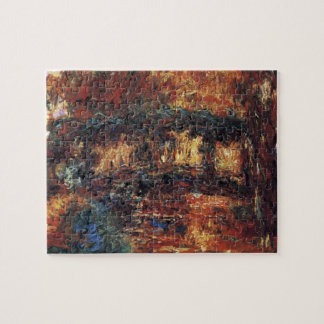 Japanese Bridge by Claude Monet, Vintage Fine Art Jigsaw Puzzle