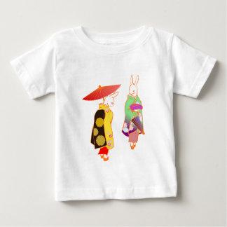 Japanese Bunny Rabbits Baby T-Shirt