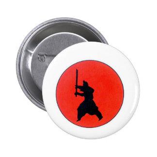 Japanese Bushido 2 Inch Round Button