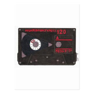 Japanese Cassette Tape Post Card