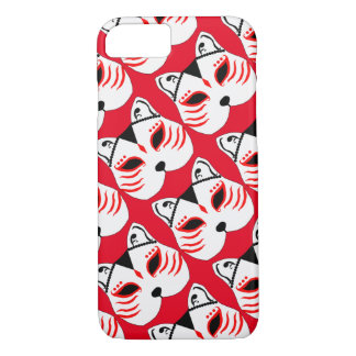 Japanese cat mask iPhone 8/7 case