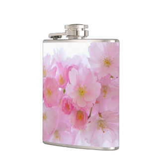 Japanese Cherry Blossom Hip Flask