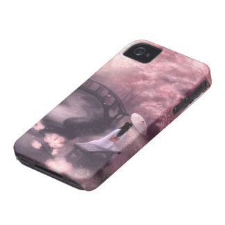 Japanese Cherry Blossom iPhone 4 Case-Mate Case