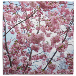 Japanese Cherry Blossom Napkin
