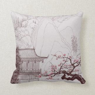 Japanese  Cherry Blossom Pillow
