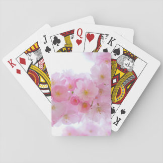 Japanese Cherry Blossom Playing Cards