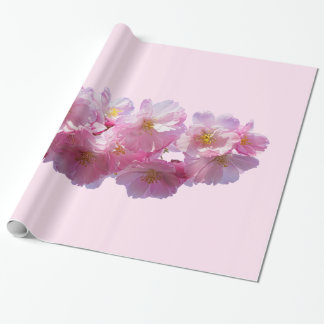 Japanese Cherry Blossom Wrapping Paper