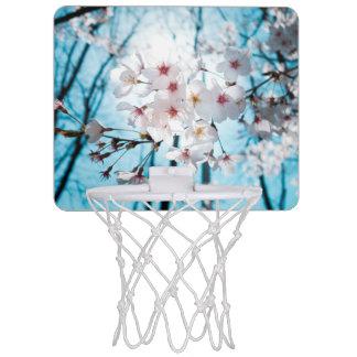 Japanese Cherry Blossom Zen Mini Basketball Backboard
