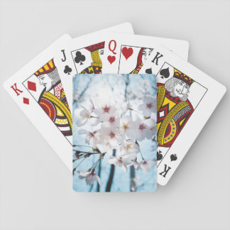 Japanese Cherry Blossom Zen Playing Cards
