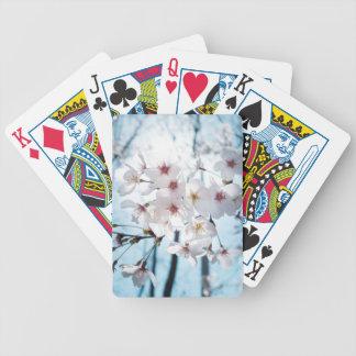 Japanese Cherry Blossom Zen Poker Deck