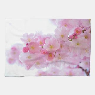 Japanese Cherry Blossoms Hand Towel