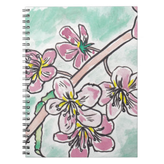 Japanese Cherry Blossoms Notebook