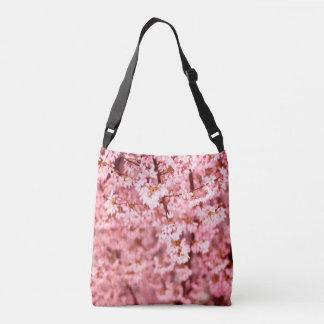 Japanese Cherry Flower Crossbody Bag