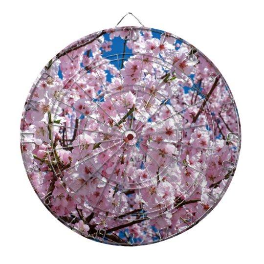 Japanese cherry Flower Dartboard