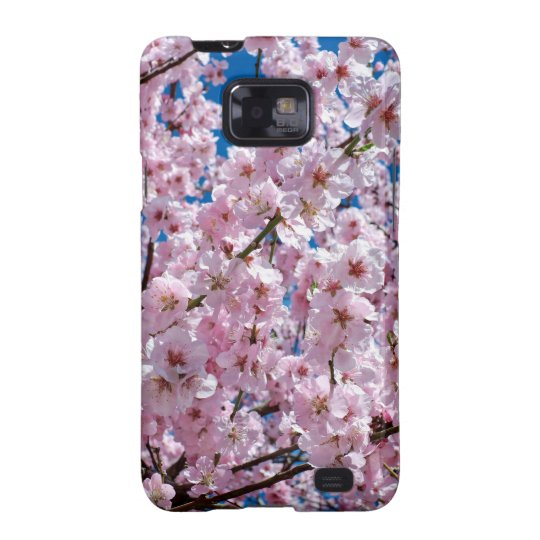 Japanese cherry Flower Galaxy S2 Covers