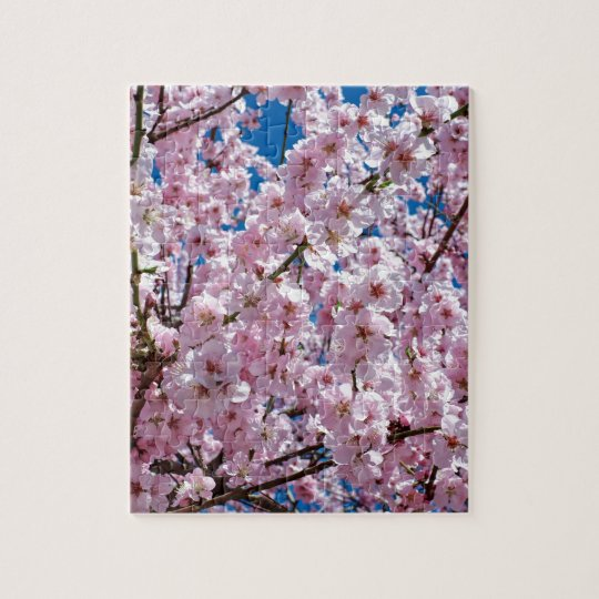 Japanese cherry Flower Jigsaw Puzzle