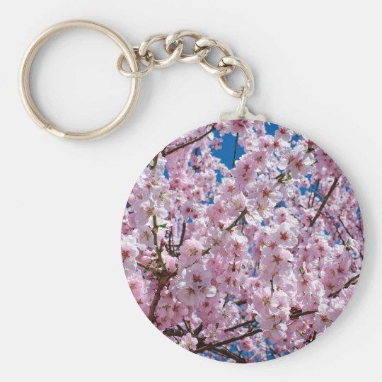 Japanese cherry Flower Keychain