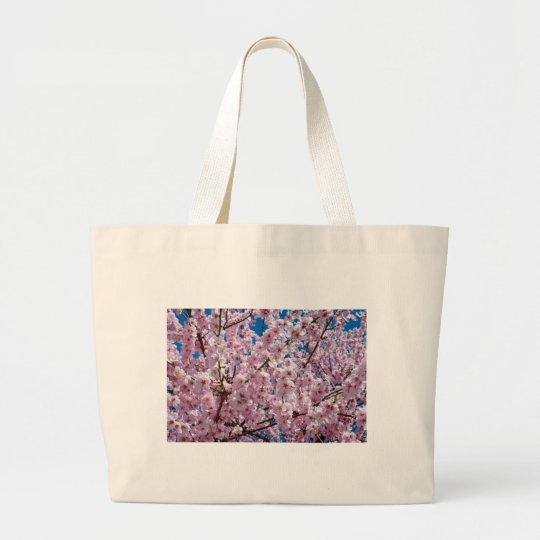 Japanese cherry Flower Large Tote Bag