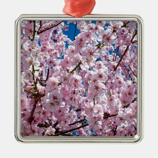 Japanese cherry Flower Metal Ornament