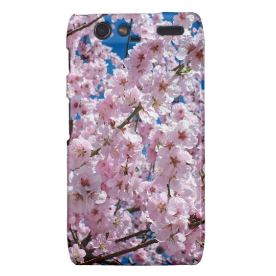 Japanese cherry Flower Motorola Droid RAZR Case