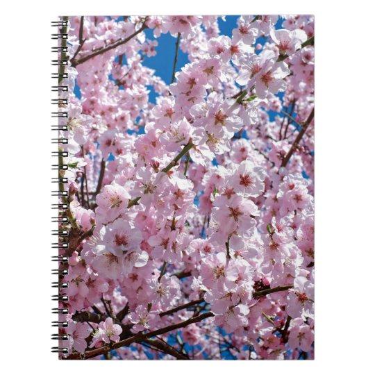 Japanese cherry Flower Notebooks