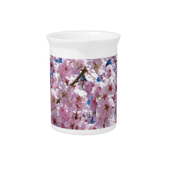 Japanese cherry Flower Pitcher