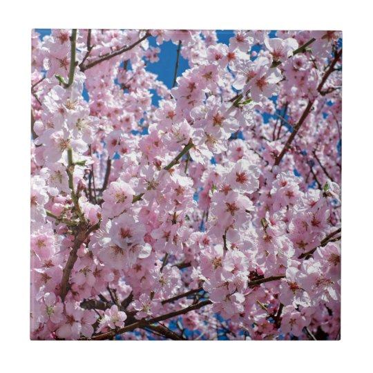 Japanese cherry Flower Tile