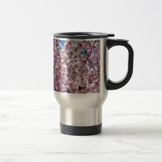 Japanese cherry Flower Travel Mug