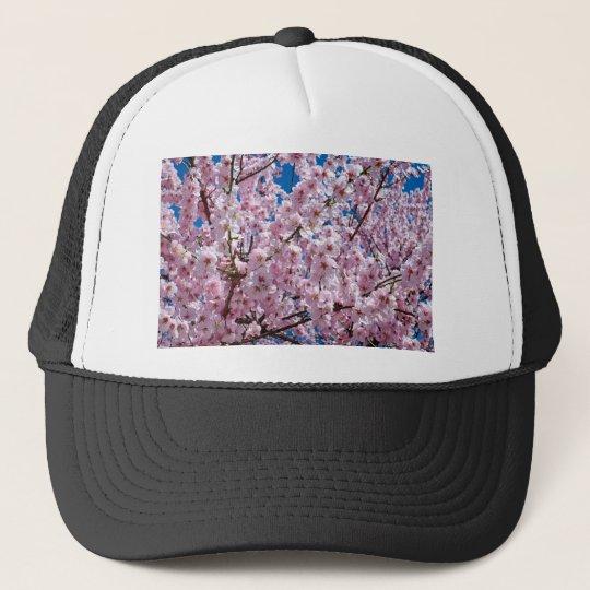 Japanese cherry Flower Trucker Hat