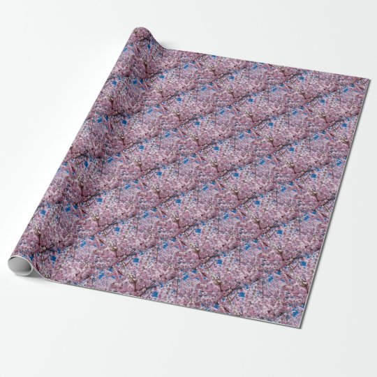 Japanese cherry Flower Wrapping Paper
