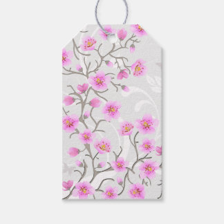 Japanese Cherry Flowers Pack Of Gift Tags
