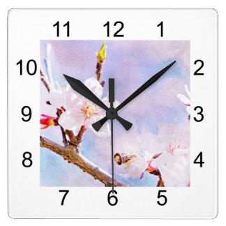 Japanese Cherry - Sakura In Bloom Wall Clock